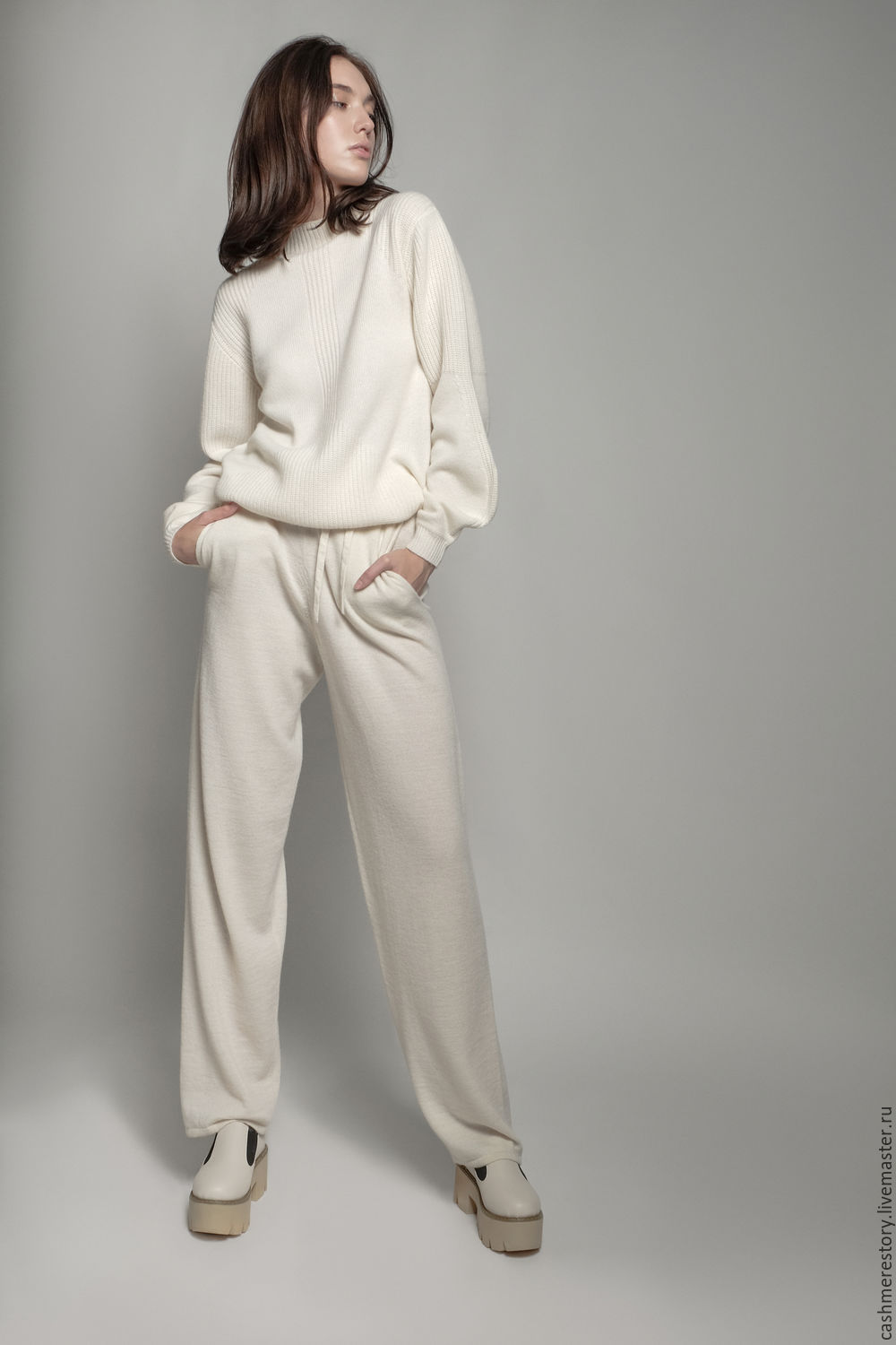 Pants knitted women's BIANCO, Pants, Moscow,  Фото №1