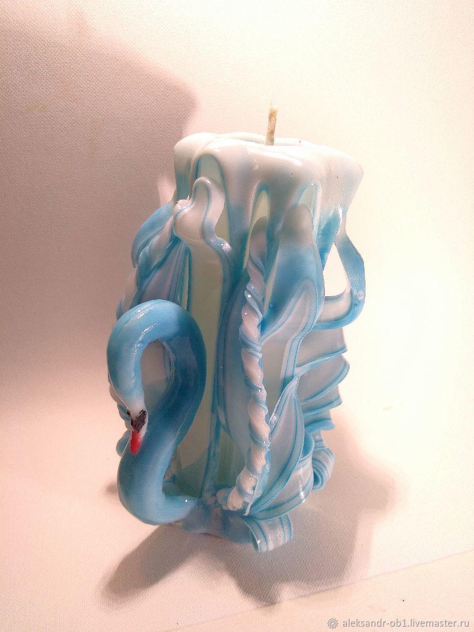 свечи лебеди картинка украсят дверцы мебельных