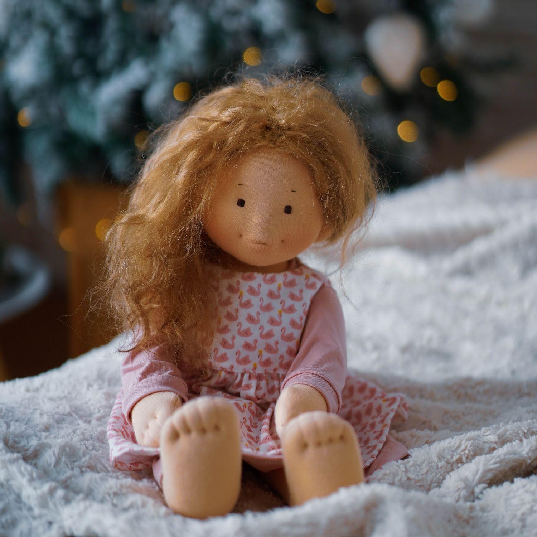 Вальдорфская кукла, Вальдорфские куклы и звери, Владивосток,  Фото №1