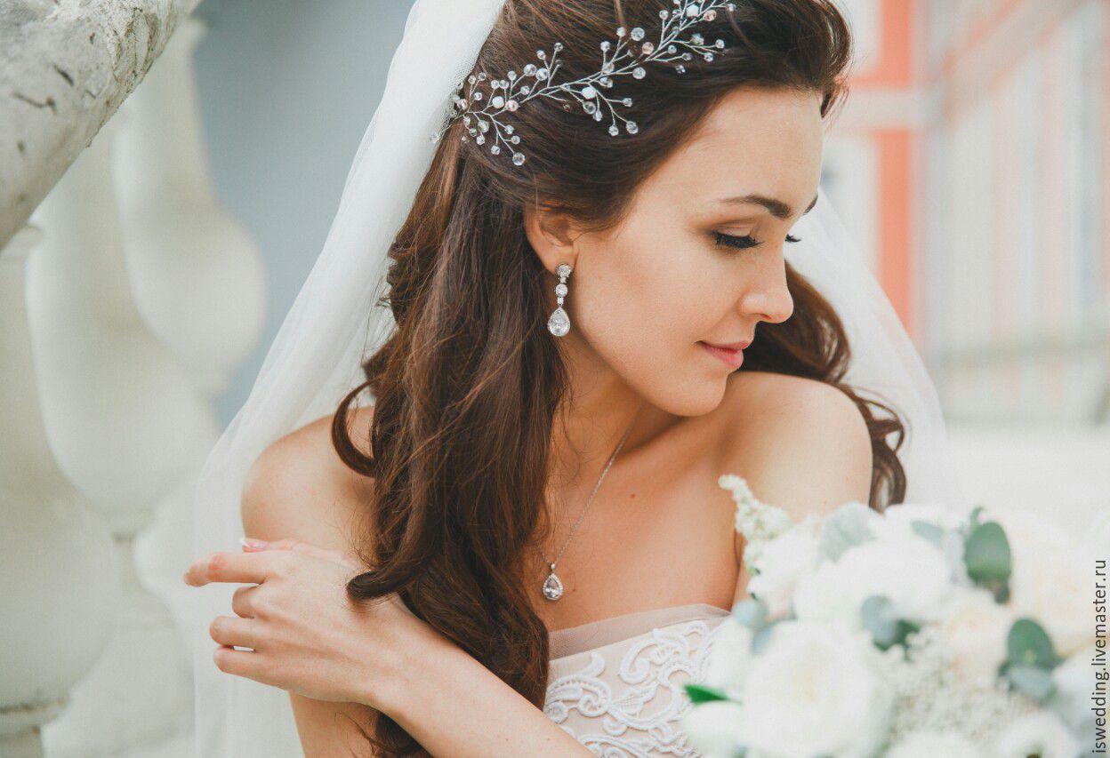 Свадебные прически, 280 фото красивых свадебных причесок 98