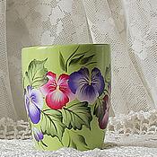 Посуда handmade. Livemaster - original item Mug with painted