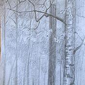 Картины и панно ручной работы. Ярмарка Мастеров - ручная работа Ветка. Handmade.