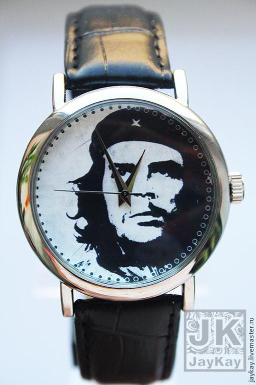 """Часы ручной работы. Ярмарка Мастеров - ручная работа. Купить Часы наручные JK """"Че"""". Handmade. Часы"""