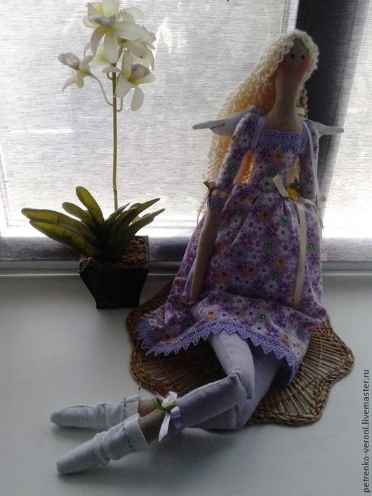 Куклы Тильды ручной работы. Ярмарка Мастеров - ручная работа. Купить Цветочный ангел. Handmade. Нежность, натуральные материалы, хлопок