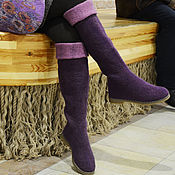 Обувь ручной работы. Ярмарка Мастеров - ручная работа Сапоги валяные. Handmade.