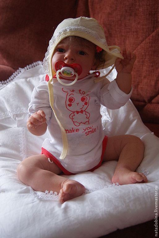 Куклы-младенцы и reborn ручной работы. Ярмарка Мастеров - ручная работа. Купить кукла реборн Сабрина продана. Handmade. синтепух