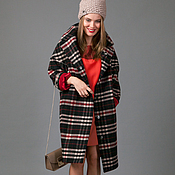 Одежда handmade. Livemaster - original item Coat oversize Black. Handmade.