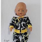 """Одежда для кукол ручной работы. Ярмарка Мастеров - ручная работа Одежда для кукол: костюм """" Звёзды"""" для Беби Бон.. Handmade."""