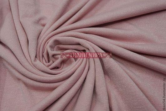 Шитье ручной работы. Ярмарка Мастеров - ручная работа. Купить Трикотаж плат. гл/краш 1012, 150 см, розовый. Handmade.