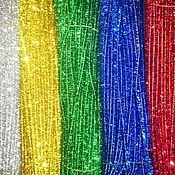 Материалы для творчества ручной работы. Ярмарка Мастеров - ручная работа Синельная проволока блестящая  6 цветов. Handmade.