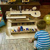 Игровые наборы ручной работы. Ярмарка Мастеров - ручная работа Парковка-гараж для машинок. Handmade.
