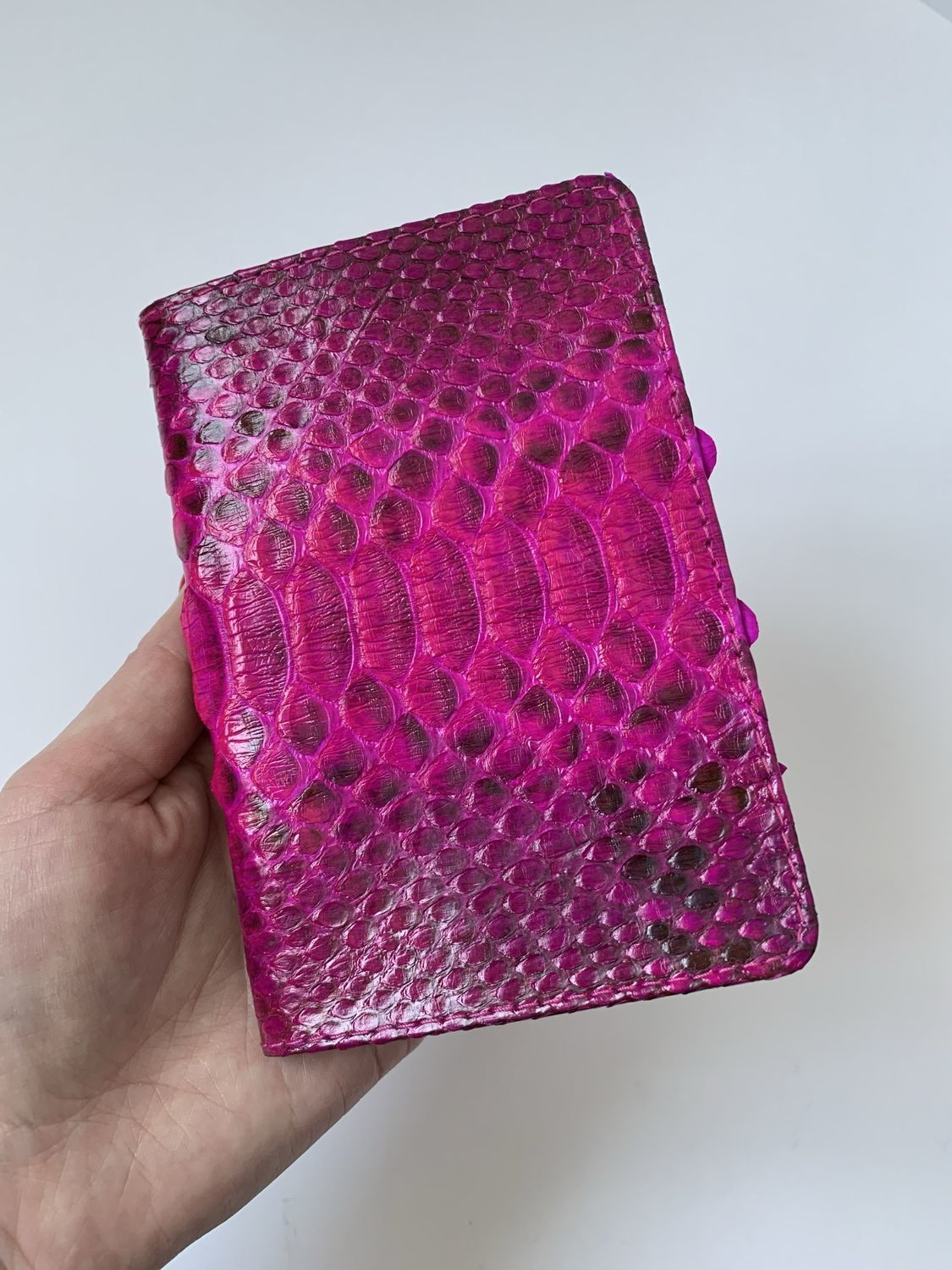 Cover for a passport from Python, Passport cover, Izhevsk,  Фото №1