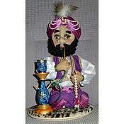 """Куклы и игрушки ручной работы. Ярмарка Мастеров - ручная работа Кукла интерьерная """"Персидский шах"""". Handmade."""