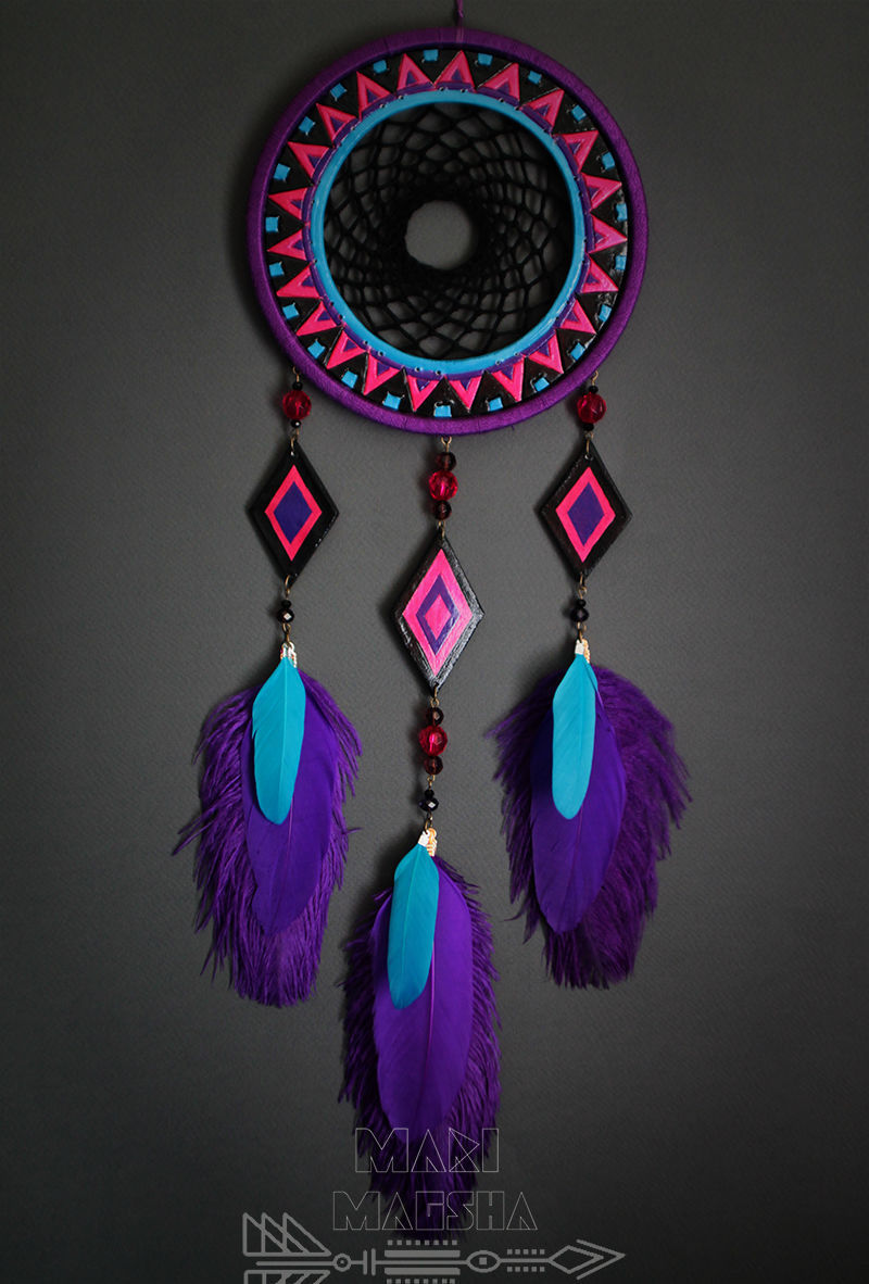 Dreamcatcher 'In the rhythm of ethnic', Dream catchers, Moscow,  Фото №1