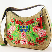 Сумки и аксессуары handmade. Livemaster - original item Bag embroidered