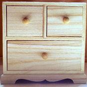 Материалы для творчества ручной работы. Ярмарка Мастеров - ручная работа Комод 3 ящика. Handmade.
