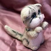 Куклы и игрушки handmade. Livemaster - original item Scottish fold kitten. Handmade.