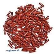 Материалы для творчества handmade. Livemaster - original item 10gr 7 13600mm Bugle Czech seed beads Preciosa. Handmade.
