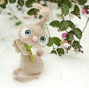 Куклы и игрушки ручной работы. Ярмарка Мастеров - ручная работа зайка Клёпа. Handmade.