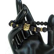 Украшения handmade. Livemaster - original item Copy of Copy of Elegant agate bracelet brown. Handmade.