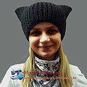Аксессуары handmade. Livemaster - original item Hat with ears - 2. Handmade.