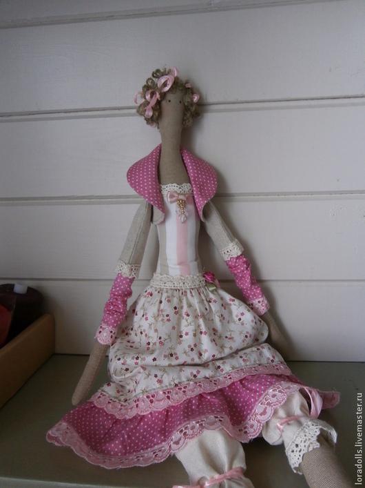 Куклы Тильды ручной работы. Ярмарка Мастеров - ручная работа. Купить Тильда красотка. Handmade. Кукла ручной работы