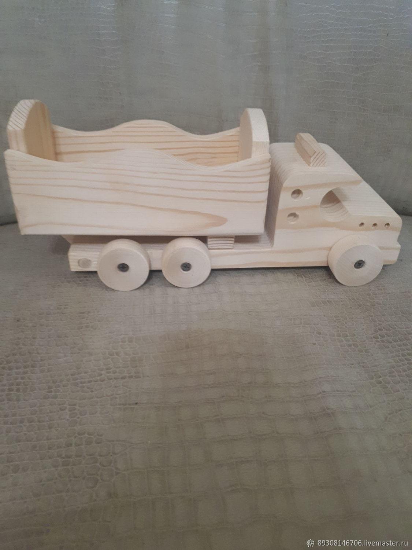 деревянная машинка, Техника роботы транспорт, Вознесенское,  Фото №1