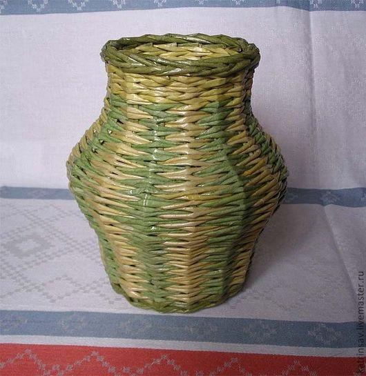 """Вазы ручной работы. Ярмарка Мастеров - ручная работа. Купить Ваза """"Травушка"""". Handmade. Салатовый, вазочка, ваза"""