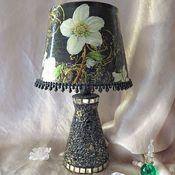 Для дома и интерьера handmade. Livemaster - original item Table lamp , White anemones,,. Handmade.
