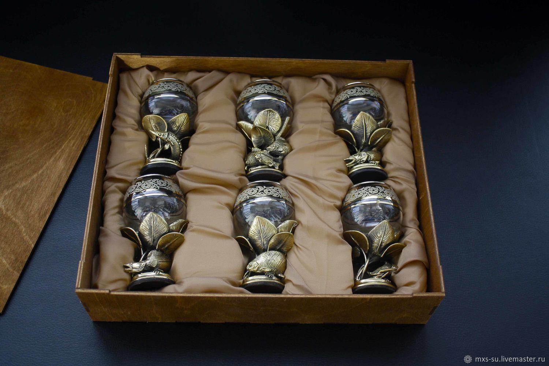 Set of glasses 'Rich catch', Shot Glasses, Tyumen,  Фото №1