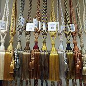 Материалы для творчества handmade. Livemaster - original item Brush for curtains Alcazar. Handmade.
