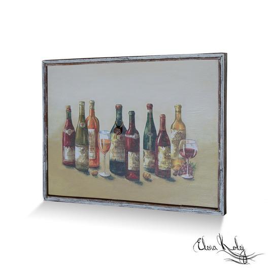 панно настенное ручной работы, панно прованс, панно необычное, панно стильное, панно винный бар, панно погребок, панно интерьерное, панно для кухни, панно кухня