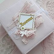 Подарок новорожденному ручной работы. Ярмарка Мастеров - ручная работа Мамины сокровища. Handmade.