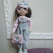 Шарнирная кукла ручной работы. Ярмарка Мастеров - ручная работа Шарнирная кукла: кукла Анютка. Handmade.