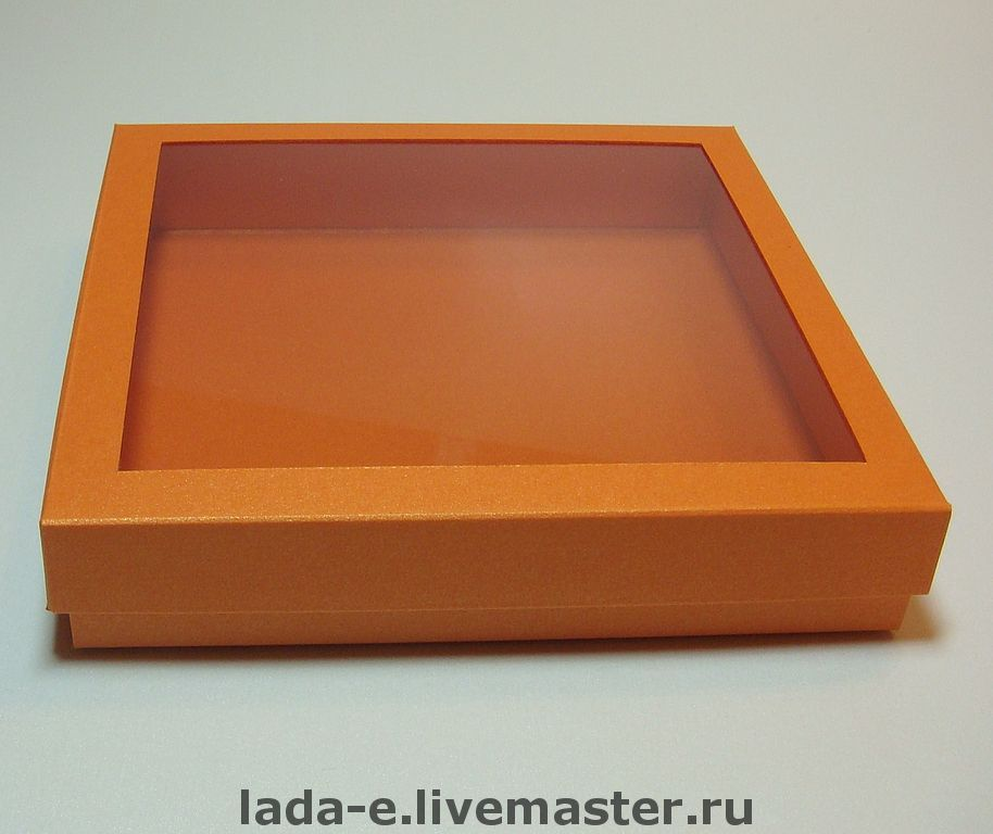 Pack of designer paper with window, Packing box, Moscow,  Фото №1