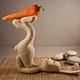 Игрушки животные, ручной работы. Заказать Саламба Сарвангасана(заяцЙОГ). Марина Шумская (ms1102). Ярмарка Мастеров. Зайцы, индия, дыхание