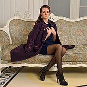 """Одежда ручной работы. Ярмарка Мастеров - ручная работа Пальто""""Violet Bouquet"""". Handmade."""