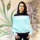 """Болеро, шраг ручной работы. Свитер-шарф вязаный, шарф с рукавами универсальный """"Закат"""". АННА СЕРДЮКОВА (SEANNA) трикотаж. Интернет-магазин Ярмарка Мастеров."""