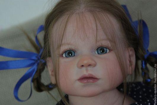 Куклы-младенцы и reborn ручной работы. Ярмарка Мастеров - ручная работа. Купить Габриелла. Handmade. Лимонный, винил