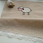 Для дома и интерьера handmade. Livemaster - original item SHEEP kitchen towel. Handmade.