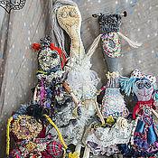 Куклы и игрушки ручной работы. Ярмарка Мастеров - ручная работа лоскутное ФРИКасе. Handmade.