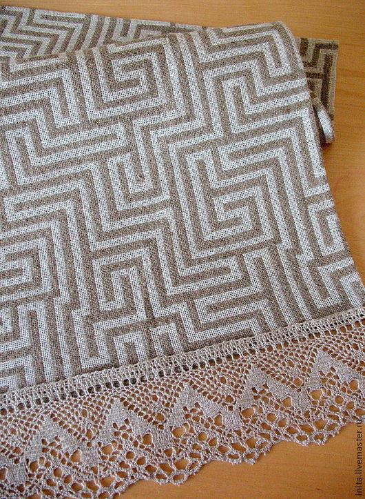 Текстиль, ковры ручной работы. Ярмарка Мастеров - ручная работа. Купить Скатерть дорожка  льняная 150см x 45 см. Handmade.