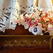 Для дома и интерьера ручной работы. Ярмарка Мастеров - ручная работа Полочка-вешалка. Handmade.