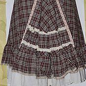 Одежда ручной работы. Ярмарка Мастеров - ручная работа chocolate boho. платье. Handmade.