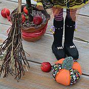 Куклы и игрушки ручной работы. Ярмарка Мастеров - ручная работа Марфуша прикинулась ведьмочкой. Handmade.