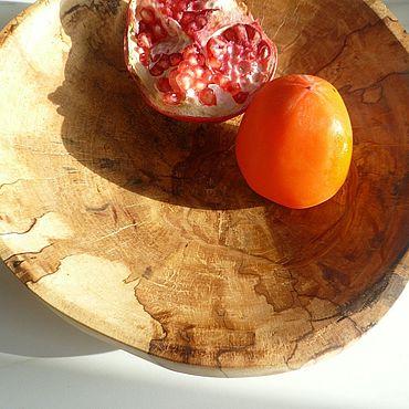 Посуда ручной работы. Ярмарка Мастеров - ручная работа Тарелки: тарелка ручной работы Карта. Handmade.