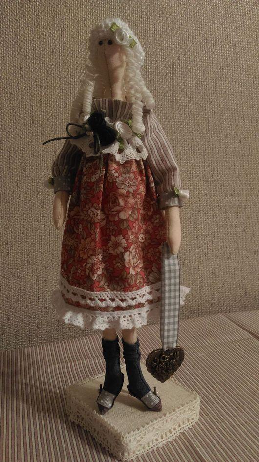Куклы Тильды ручной работы. Ярмарка Мастеров - ручная работа. Купить Сонечка. Handmade. Комбинированный, текстильная кукла, кукла в подарок