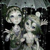 Куклы и игрушки ручной работы. Ярмарка Мастеров - ручная работа куклы Звёздный дождь. Handmade.