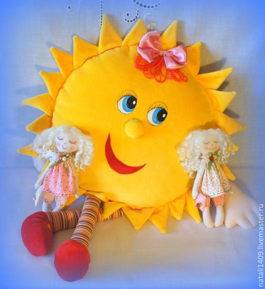 Детская ручной работы. Ярмарка Мастеров - ручная работа. Купить пижамница Солнышко для маминого Солнышка. Handmade. Желтый, для дома и интерьера