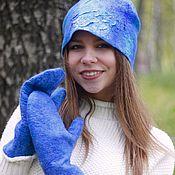 Caps handmade. Livemaster - original item Hat felted
